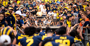 Michigan Plays Spring Game in Thud
