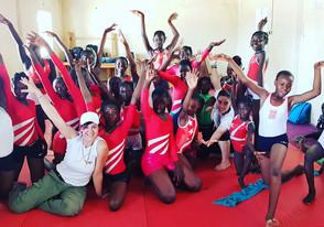 I competición de Gimnasia en Chad