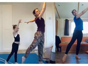 Nuestras familias nos cuentan como ha sido hacer gimnasia durante la cuarentena