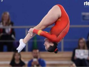 """Melania Rodríguez """"Mi entrenador lleva en mi vida desde que tenía 5 años""""."""