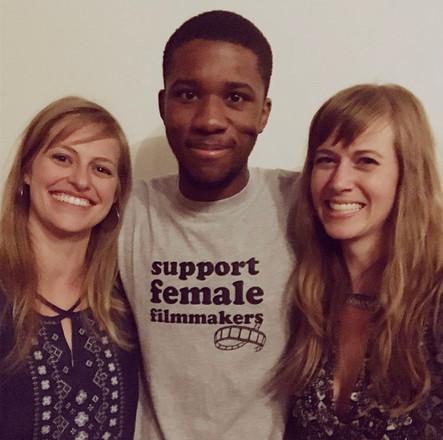 (from left) Shannon Metelko, Trent Williams, Mandy Work Wetzel