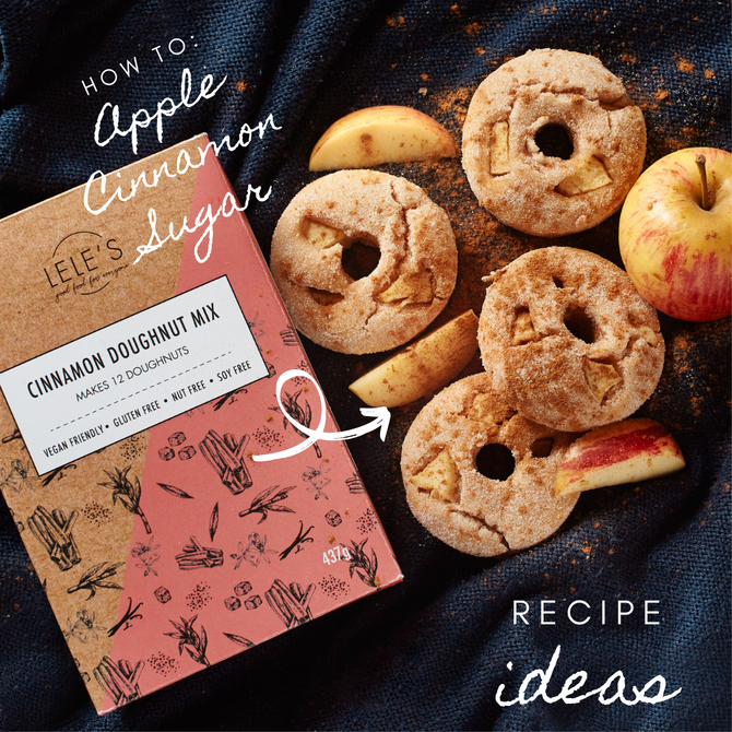 Recipe Ideas: Doughnut Mix Cinnamon and Apple