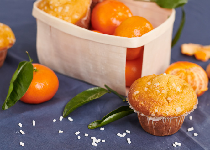 Mother's Day Clementine Muffins