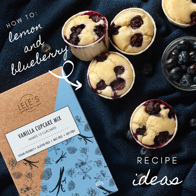 Recipe Ideas: Lemon & Blueberry