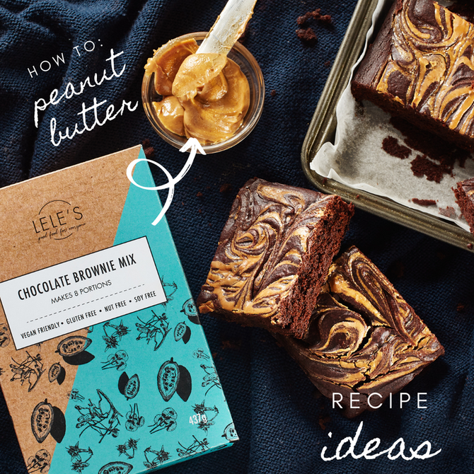 Recipe Ideas: Peanut Butter Brownies