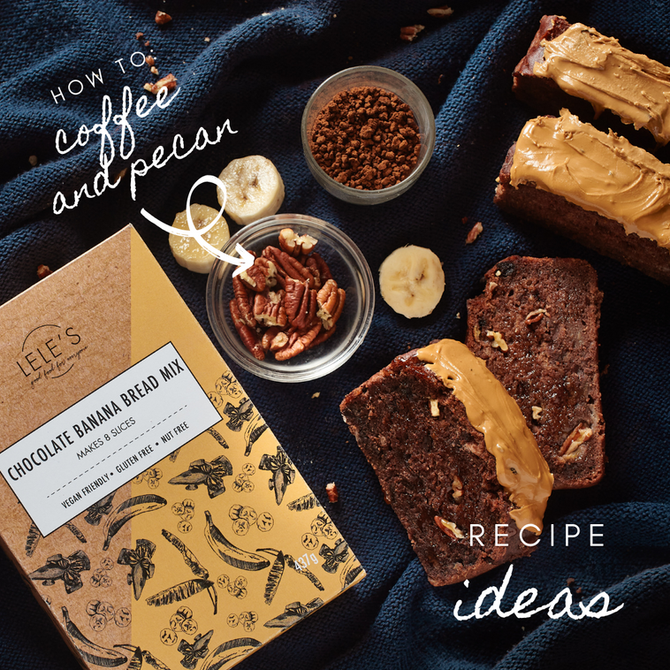 Recipe Ideas: Banana Mix - Pecans & Coffee