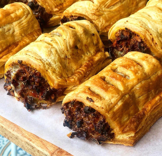 Vegan Sausage Rolls: 10 Minutes Prep Video