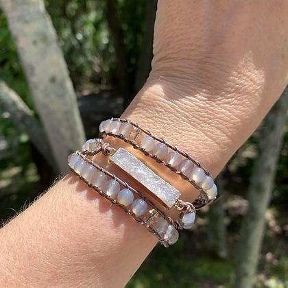 'Shifting Sand' Wrap Bracelet