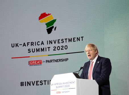 UK-Africa Investment Summit, London 20 January 2020