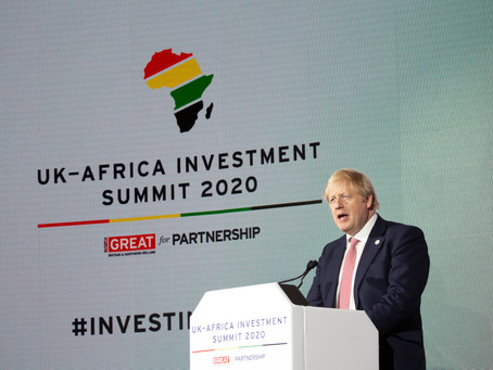UK-Africa Investment Summit, London 20 January 2020