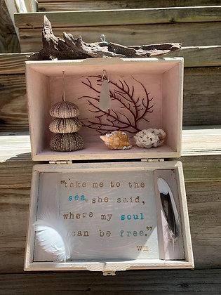 'Take Me to the Sea' Shadowbox