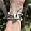 Thumbnail: 'Waves and Foam' Wrap Bracelet