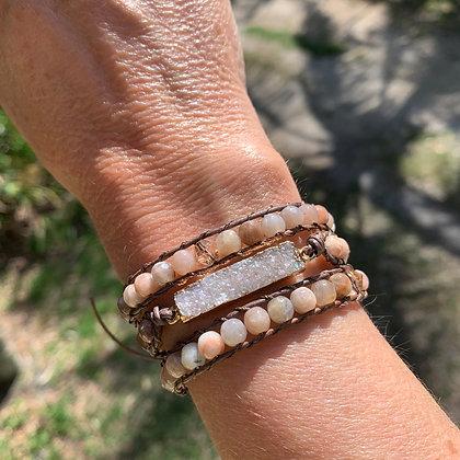 'Sparkling Sand' Wrap Bracelet