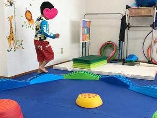 幼稚園児のコーディネーション運動
