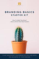 Branding Basics Starter Kit - cover page