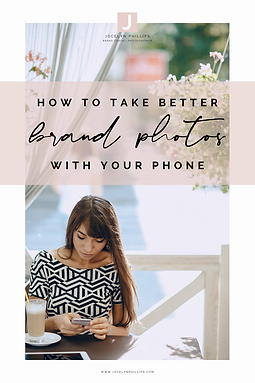 How to take better brand photos with you