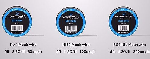 Vandy Vapes Mesh Wire