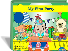 My First Party ACBrown Books