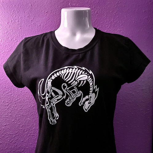 Skeleton Wolf T-shirt