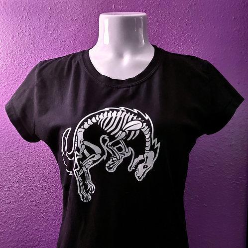 Skeleton Wolf T-shirt