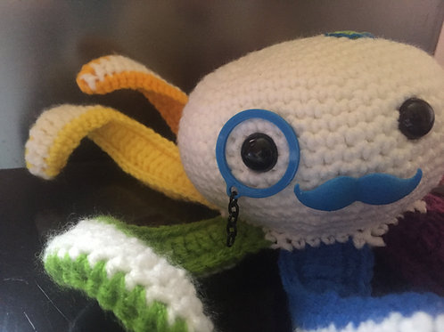 Knitted Octo Plushie