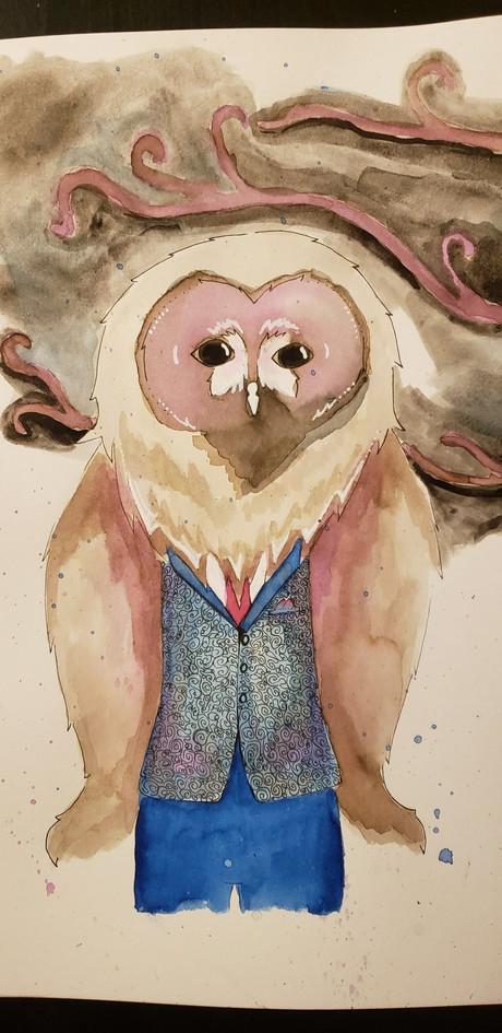 Dapper owlman
