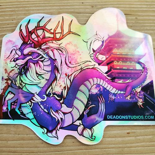 Azure Dragon Holographic