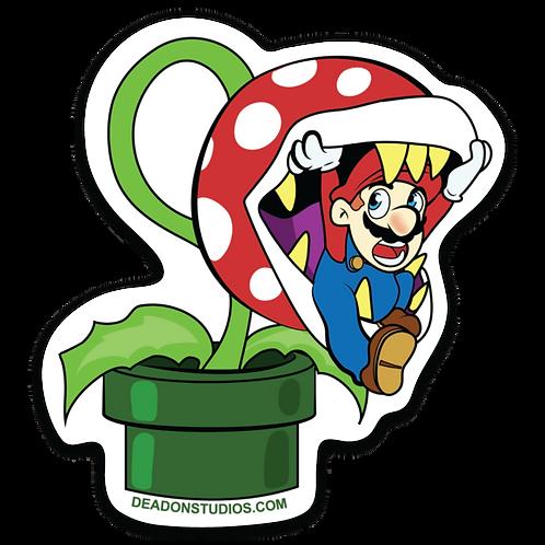 Plant Eating Mario