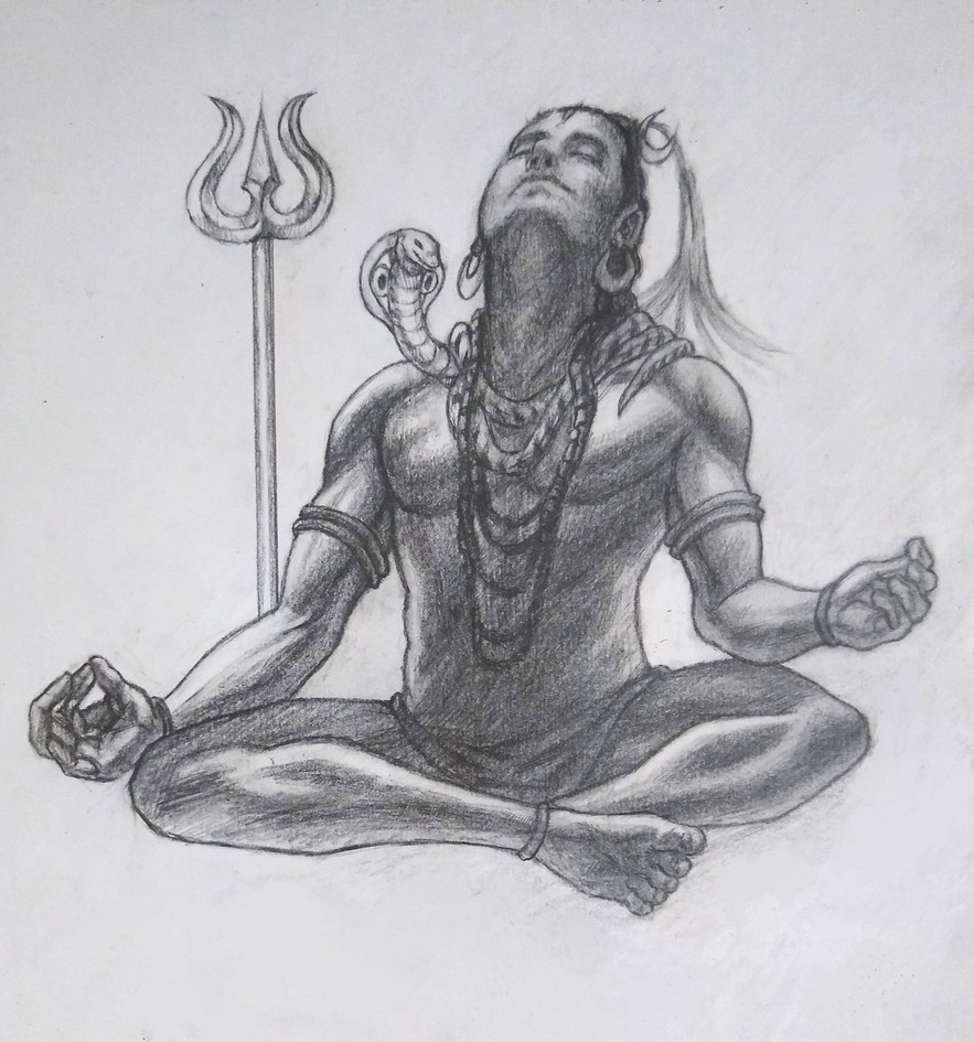 A Depiction of shiva (w.i.p)
