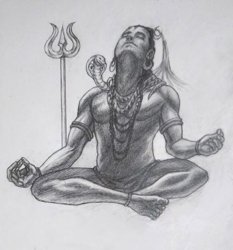 A Depiction of shiva (w.i.p)