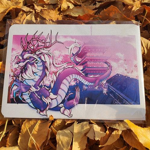 Azure Dragon 5x7 Print
