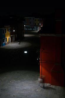 burano di notte