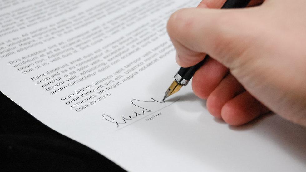 Wedding Contract & Shot List