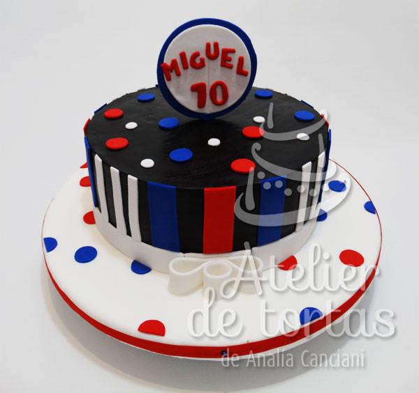 Disco Birthday Cake Cake
