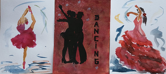 Ambiance Danse, lot de 3