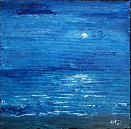 Océan et Clair de lune
