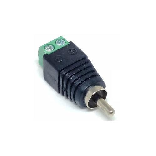 Conector RCA Macho Borne