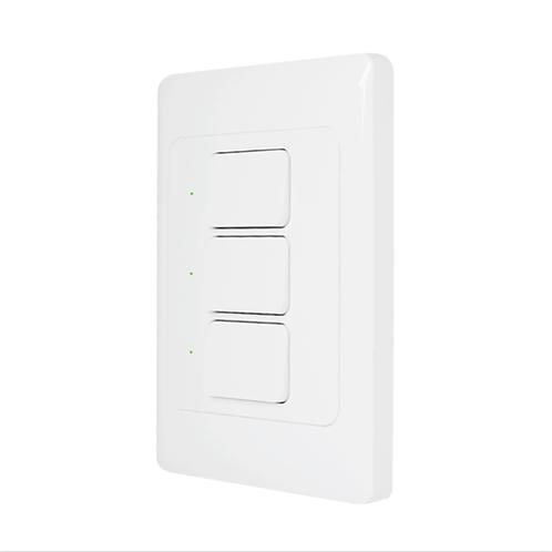 Interruptor Inteligente 3 Teclas Wi-Fi - AGL
