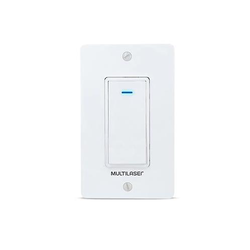 Interruptor Inteligente 1 Tecla Wi-Fi SE235 - Multilaser