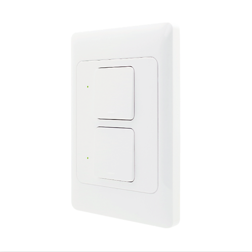 Interruptor Inteligente 2 Teclas Wi-Fi - AGL