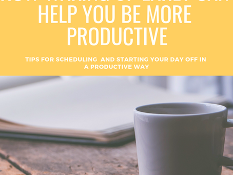 How Waking Up Early Can Make You More Productive