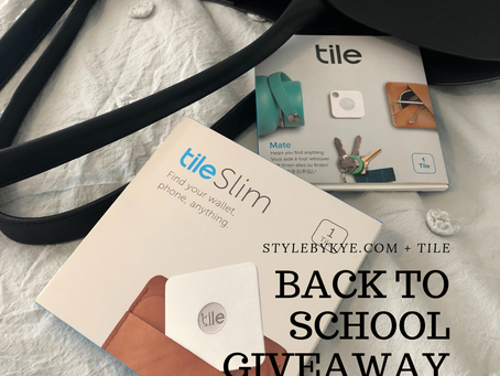 Tile Bluetooth Tracker Giveaway!