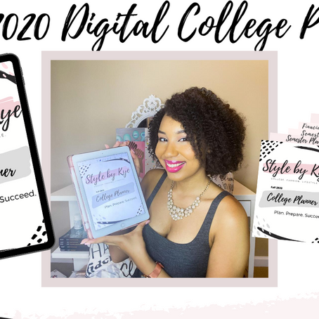 Inside Look || The Fall 2020 College Digital Planner