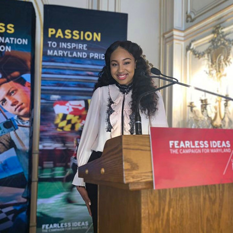My Fearless Story: Student Speaker at UMD Event