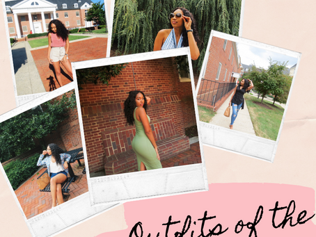 Outfits of the Week Lookbook