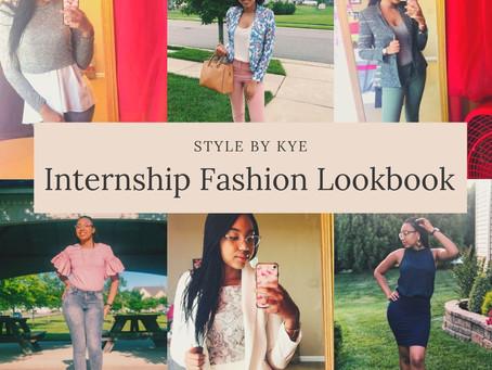 Internship Fashion Lookbook
