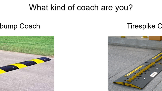 Speed Bumps or Road Spikes?