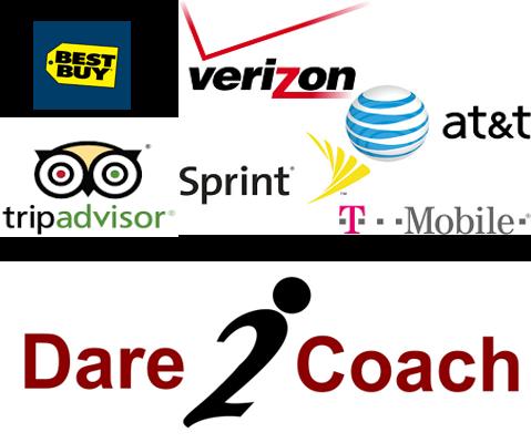 TripAdvisor. BestBuy. Verizon. Sprint. Dare2coach.