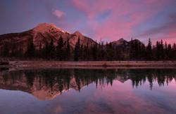 Sunrise reflections