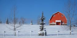 Barn House Pano